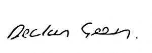Declan Green signature